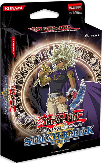 YuGiOh Trading Card Game Marik (1st Edition) Structure Deck