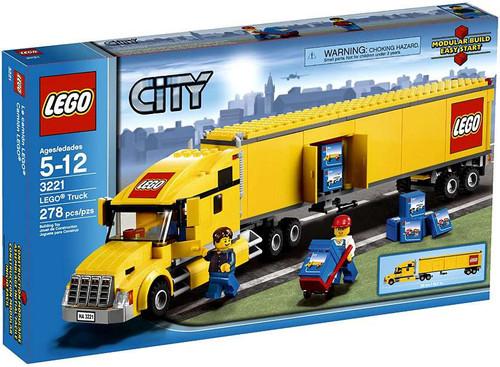 LEGO City Yellow Truck Set #3221