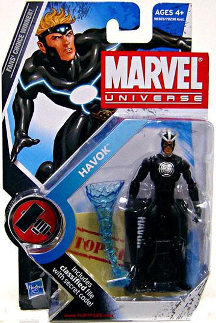 Marvel Universe Series 8 Havok Action Figure #18 [Original Costume Variant]