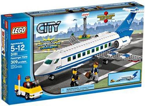 LEGO City Passenger Plane Set #3181