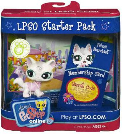 Littlest Pet Shop Online LPSO Starter Pack Felina Murchent Figure [Cat]