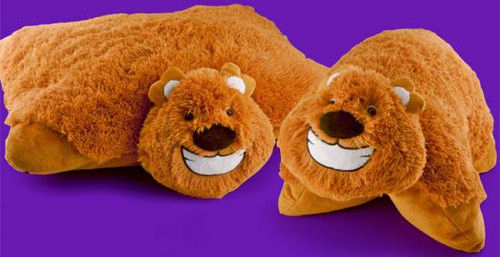 Animal Pillowz Honey the Bear 18-Inch Plush Pillow