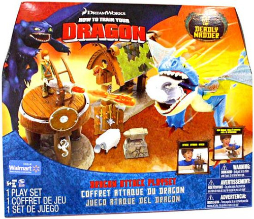 How to Train Your Dragon Dragon Attack Exclusive Playset
