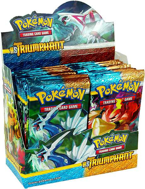 Pokemon Trading Card Game HeartGold SoulSilver Triumphant Booster Box [36 Packs]