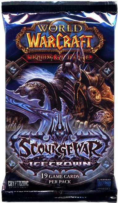 World of Warcraft Trading Card Game Scourgewar: Icecrown Booster Pack [19 Cards]