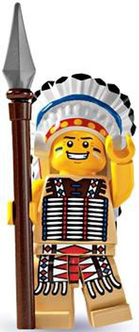LEGO Minifigures Series 3 Tribal Chief Minifigure [Loose]