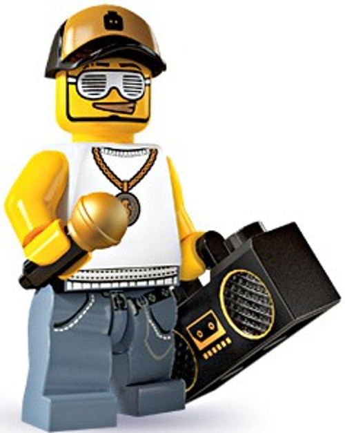 LEGO Minifigures Series 3 Male Rapper Minifigure [Loose]