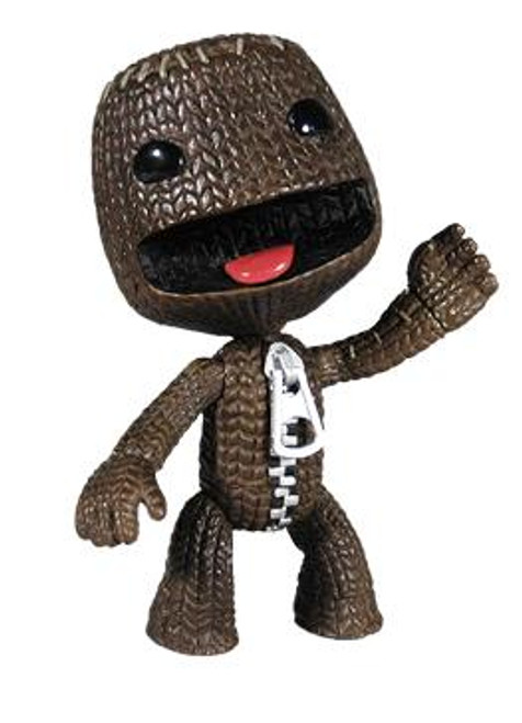 Little Big Planet Sackboy Action Figure [Open Mouth]