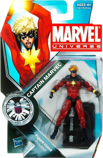 Marvel Universe Series 12 Captain Marvel Action Figure #1