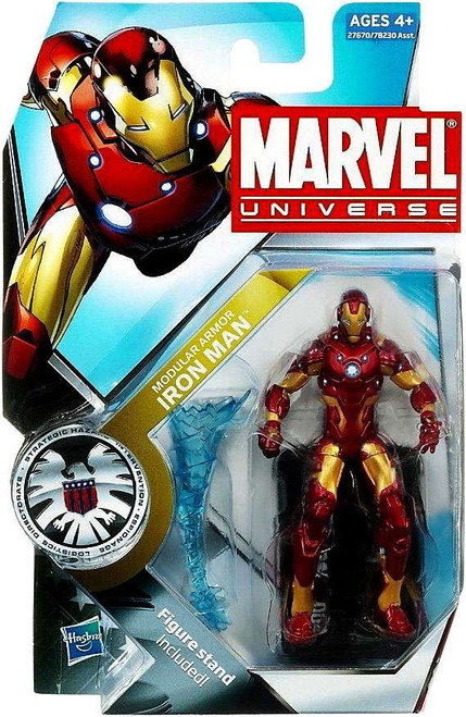 Marvel Universe Series 12 Modular Armor Iron Man Action Figure #4