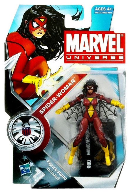 Marvel Universe Series 12 Spider-Woman Action Figure #6