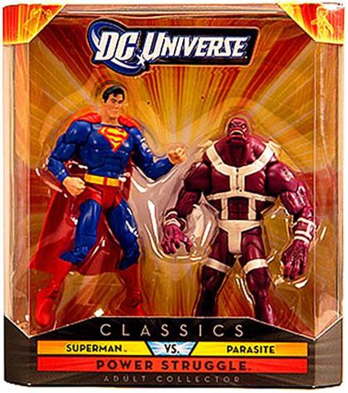 DC UNIVERS Exclusif CLASSICS SERIES 2 Pack Superman vs parasite nouveau