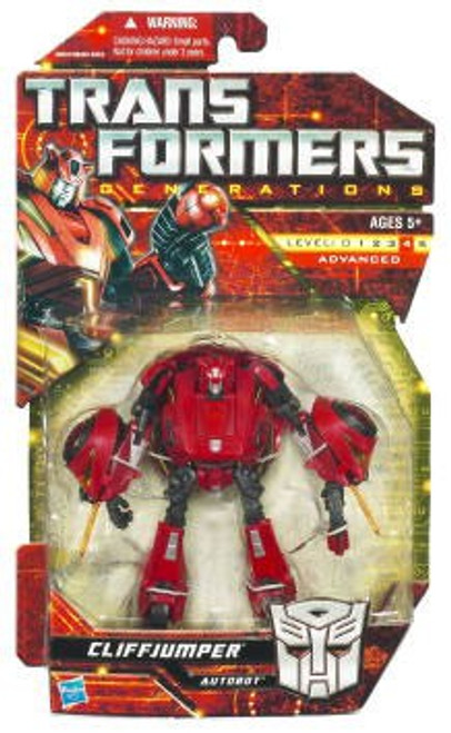 Transformers Generations Cliffjumper Deluxe Action Figure