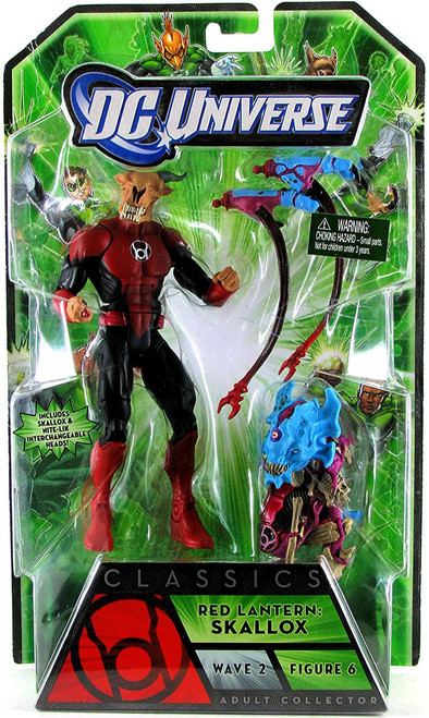 DC Universe Green Lantern Classics Stel Series Red Lantern Skallox OR Nite-Lik Action Figure