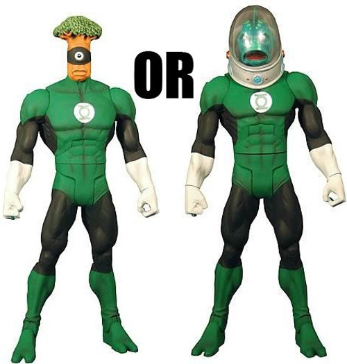 DC Universe Green Lantern Classics Stel Series Medphyll OR Naut Ke Loi Action Figure