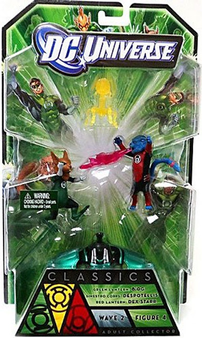 DC Universe Green Lantern Classics Stel Series B'dg, Dex-Starr & Despotellis Action Figures