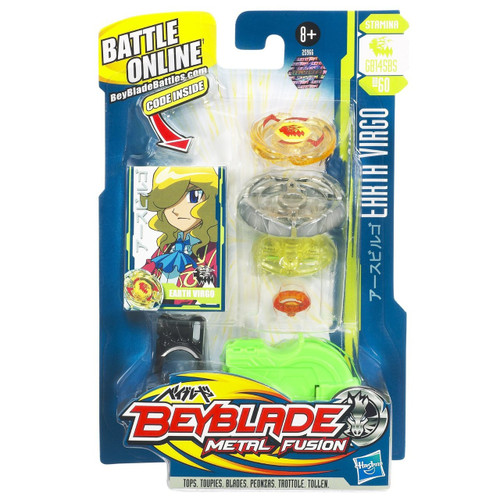 Beyblade Metal Fusion Earth Virgo Single Pack BB-60