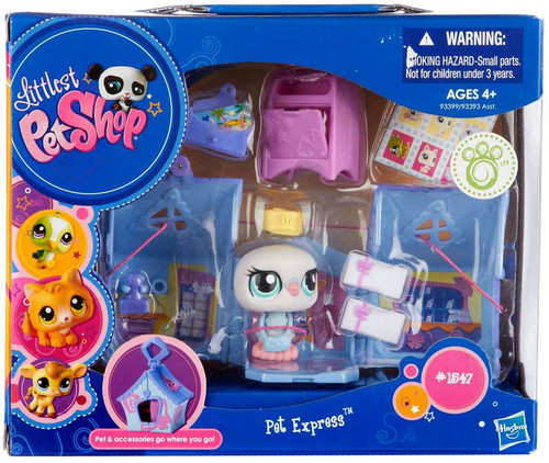 Littlest Pet Shop On the Go Pet Express Pigeon Set