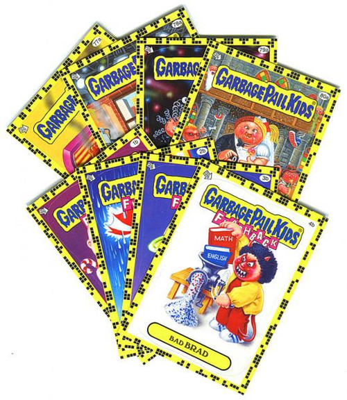 Garbage Pail Kids Topps Flashback Series 2 Trading Card Complete Set