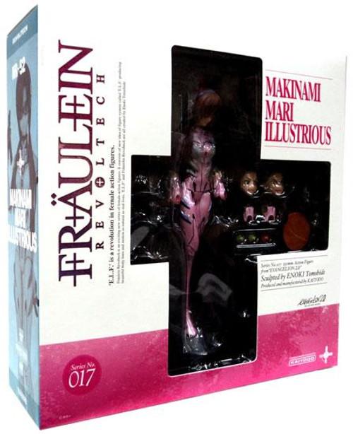 Neon Genesis Evangelion Fraulein Revolution Revoltech Makinami Mari Illustrious Action Figure #017