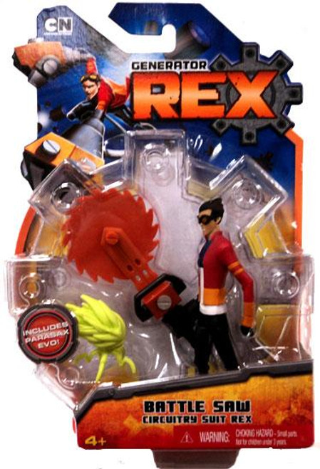 Generator Rex Rex Action Figure [Battle Saw Circuitry Suit]
