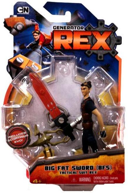 Generator Rex Rex Action Figure [Big Fat Sword Tactical Suit]