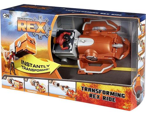 Generator Rex Transforming Rex Ride