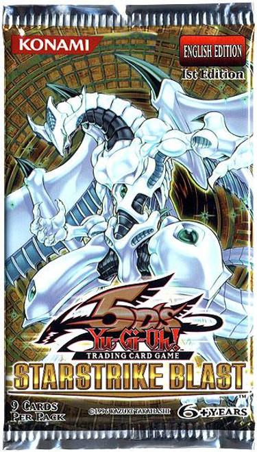 YuGiOh Trading Card Game Starstrike Blast Booster Pack [9 Cards]