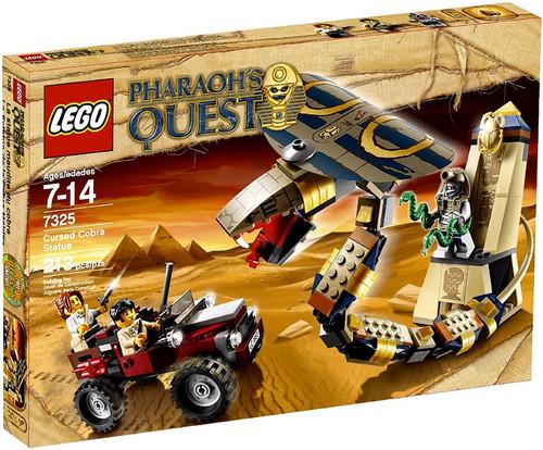 LEGO Pharaoh's Quest Cursed Cobra Statue Set #7325