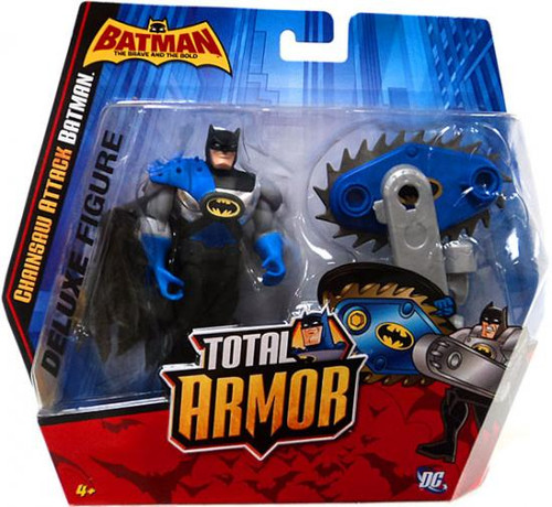 Brave and the Bold Total Armor Chainsaw Attack Batman Action Figure