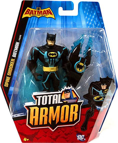 Brave and the Bold Total Armor Spine Shocker Batman Action Figure