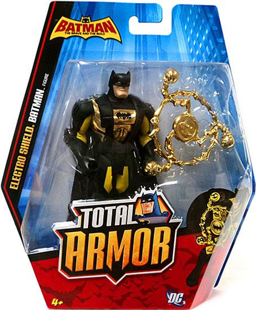 Brave and the Bold Total Armor Electro Shield Batman Action Figure