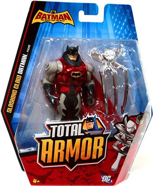 Brave and the Bold Total Armor Slashing Claw Batman Action Figure