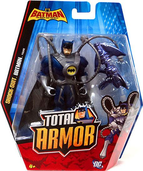 Brave and the Bold Total Armor Shock-Suit Batman Action Figure
