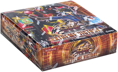 YuGiOh Trading Card Game Extreme Victory (1st Edition) Booster Box [24 Packs]