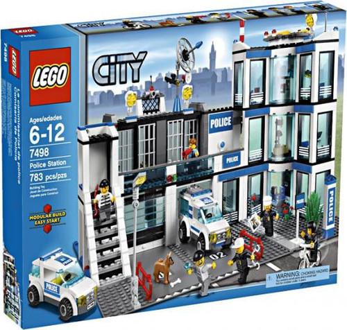 LEGO City Police Station Set #7498