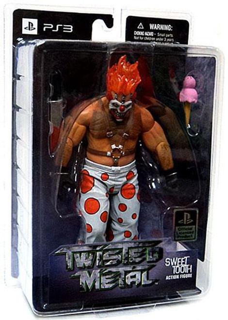 Twisted Metal Sweet Tooth Action Figure
