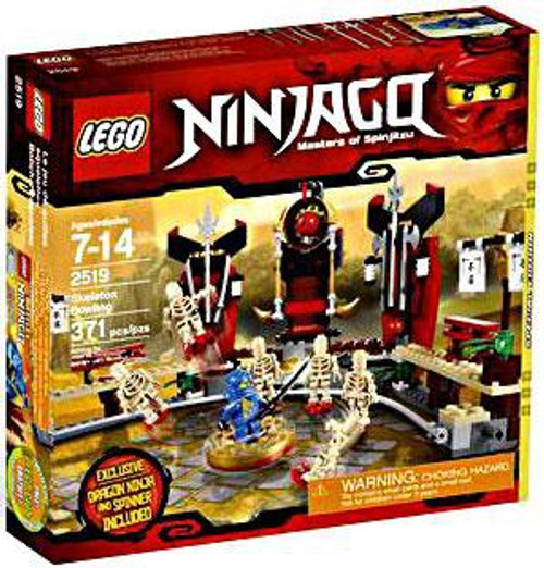 LEGO Ninjago Skeleton Bowling Exclusive Set #2519