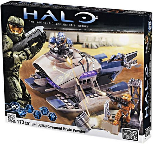 Mega Bloks Halo Covenant Brute Prowler Set #96869