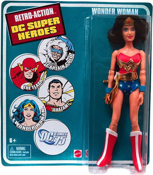 DC World's Greatest Super Heroes Retro Series 3 Wonder Woman Retro Action Figure