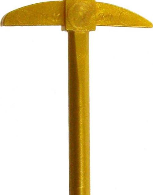 LEGO Golden Pickaxe Loose Weapon [Loose]