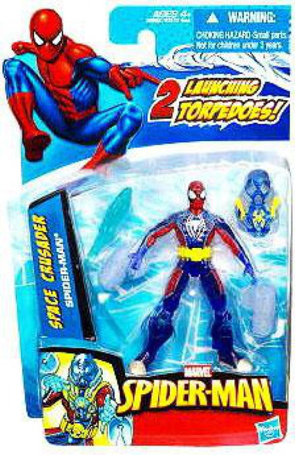 2010 Space Crusader Spider-Man Action Figure