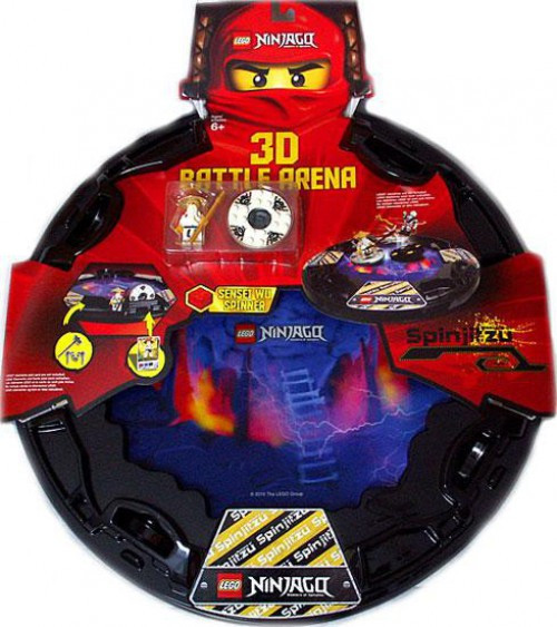 LEGO Ninjago Spinjitzu Spinners Spinjitzu 3D Battle Arena Exclusive Set #853106