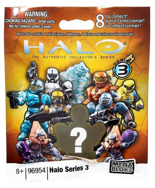 Mega Bloks Halo Series 3 Minifigure Mystery Pack [1 RANDOM Figure]
