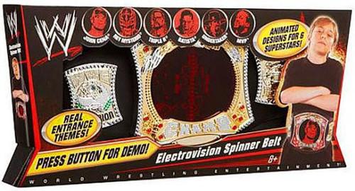 WWE Wrestling Electrovision Championship Spinner Kids Replica Belt