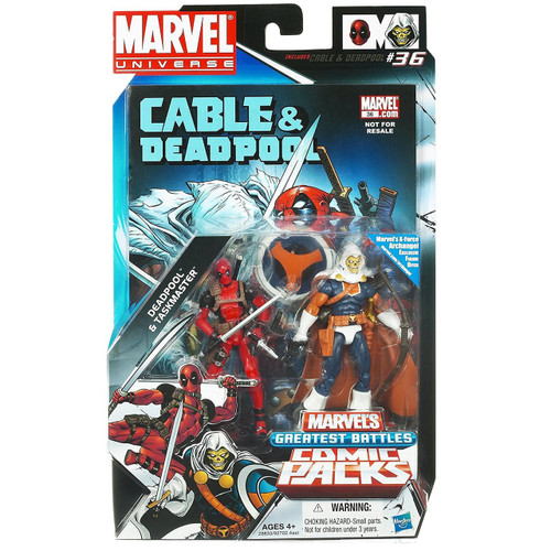Marvel Universe Deadpool & Taskmaster Action Figure 2-Pack
