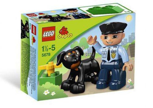 LEGO Duplo Policeman Set #5678