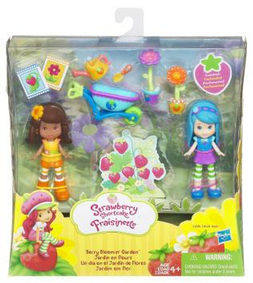Strawberry Shortcake Fraisinette Berry Bloomin' Garden Mini Figure 2-Pack