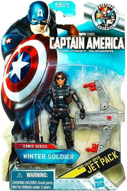 Captain America The First Avenger Comic Series Winter Soldier Action Figure #4