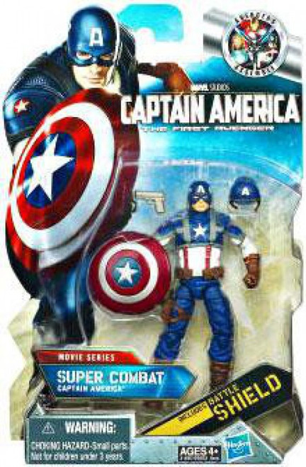 The First Avenger Comic Series Super Combat Captain America Action Figure #7